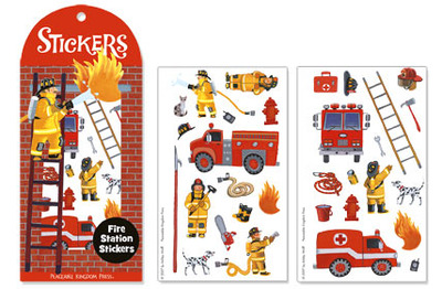 Fire Station Stickers