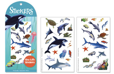 Large sea life stickers