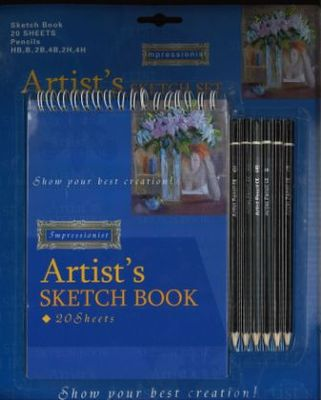 Large artists sketch set large