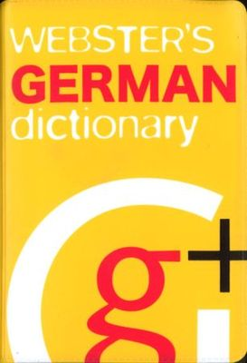 Large websters german dictionary