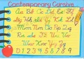 Contemporary Cursive Learning Placemat