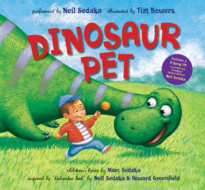 Dinosaur Pet (Book & CD)