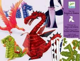 Dragons & Chimeras Paper Toys
