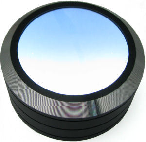 Magnifier Paperweight 5x w/ 3 LEDs Black (SM-5XMLED-Blk)
