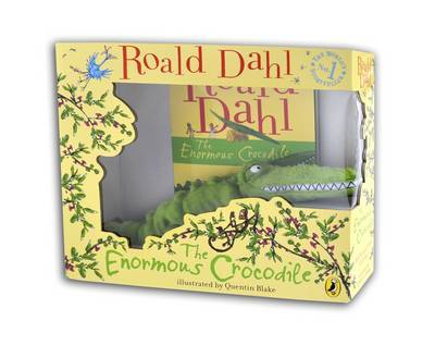 The Enormous Crocodile Book and Toy Gift Set