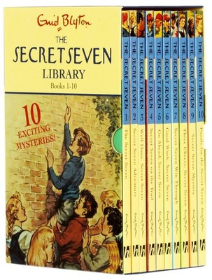 Secret Seven 1-10 Classic Edition Slipcase