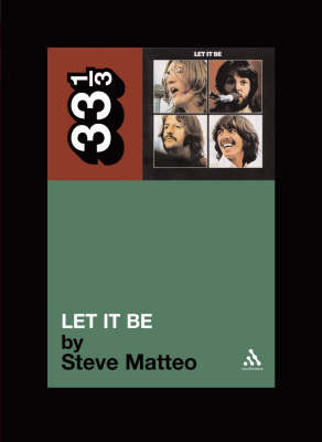 The Beatles' Let it be 33 1/3