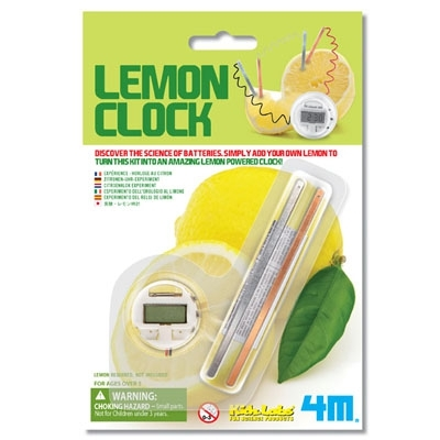 Large lemon clock