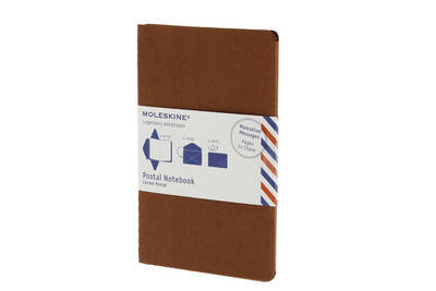 Moleskine Postal Notebook - Large Terracotta