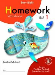 ESA Homework Year 1 Start Right Workbook