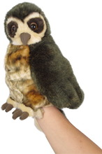 Homepage morepork puppet with sound