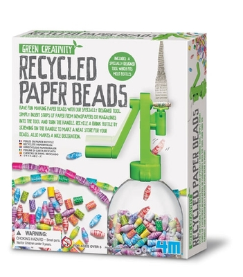 Recycled Paper Beads (Green Creativity)