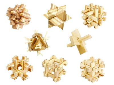 Bamboo 3D Puzzle (Eco Game)
