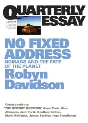 No Fixed Address Nomads and the Fate of the Planet