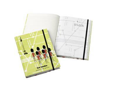 Lisa London Travel Journal with Pockets