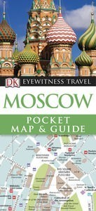 Moscow DK Eyewitness Pocket Map and Guide