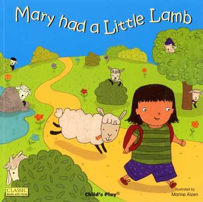 Mary Had A Little Lamb (classic book with holes)