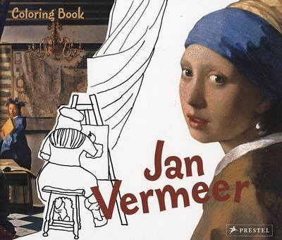 JAN VERMEER: COLORING BOOK
