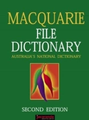 MACQUARIE FILE DICTIONARY