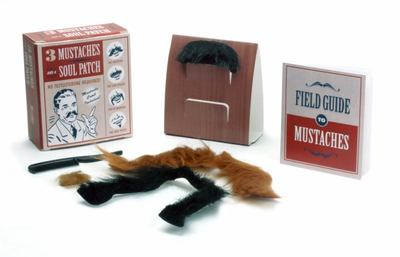 THREE MUSTACHES AND A SOUL PATCH MINI KIT