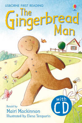 THE GINGERBREAD MAN FIRST READING USBORNE