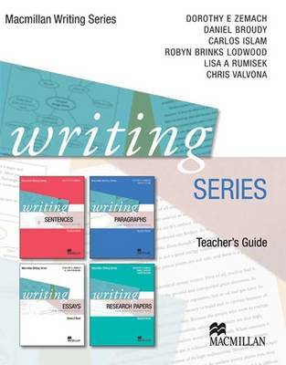 Writing Series: Teacher's Guide