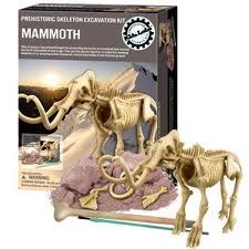 Woolly Mammoth Excavation Kit