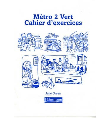 Metro 2 Vert Workbook Euro Edition (Pack of 8)