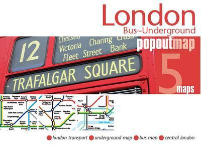London Bus & Underground PopOut Map