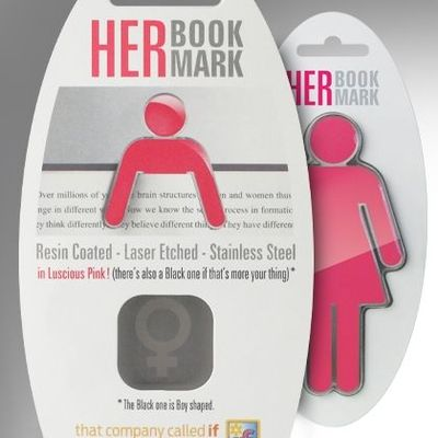 Bookmark Hers Pink Stainless Steel (94102)