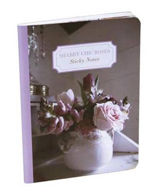 Shabby Chic Roses Sticky Notes