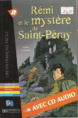 Remi ET Le Mystere De St-Peray - Livre & CD Audio