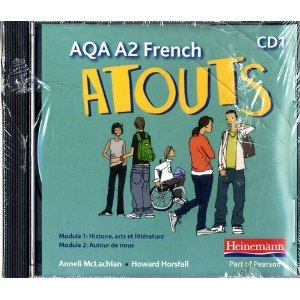 Atouts: AQA A2 French Audio CD Pack