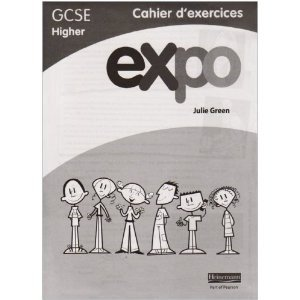 Expo (OCR and AQA) GCSE French Higher Workbook (pack of 8)