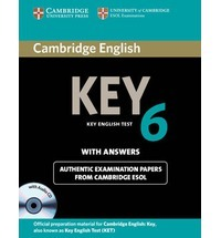 KEY 6 Student Book with answers and CD