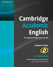 Cambridge Academic English Advanced Student Book