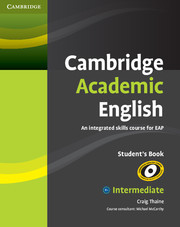 Cambridge Academic English Intermediate Student Book