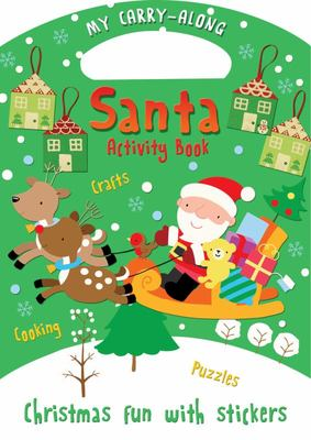 My Carry-along Santa Activity Book: Activity Book with Stickers
