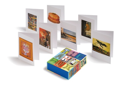 Art Box Greeting Cards (Red)