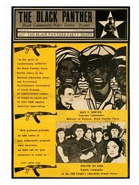 Black Panthers Magazine Cover Poster