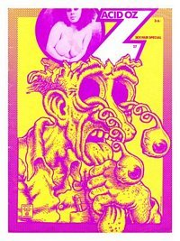 Oz number 27 Robert Crumb Poster