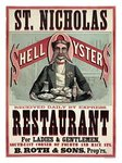 St Nicholas, Shell Oyster Restaurant Poster