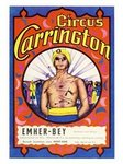 Carrington, Circus Poster, 1970s
