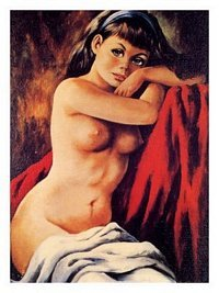 Kitsch Nude, 1960s  Poster