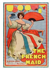 The French Maid, Theatre Poster