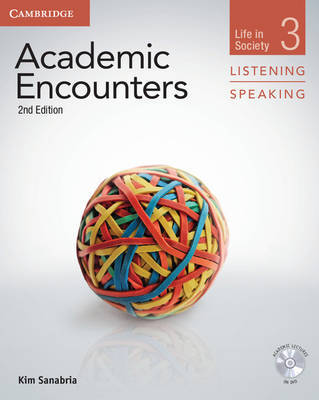 Academic Encounters Level 3 Student Book Listening and Speaking with DVD