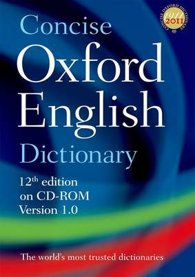 Concise Oxford English Dictionary: Windows/Mac Individual User Version 1.0 (12th Edition)