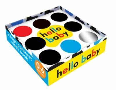 Hello Baby Mirror Cloth Book