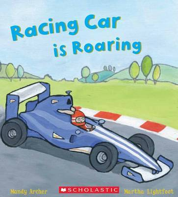 Racing Car is Roaring (Busy Wheels)