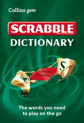 Collins Gem Scrabble Dictionary 3rd Edition